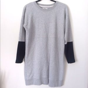 Madewell sweatshirt dress